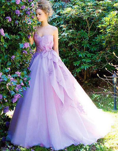 vestido de novia que no sea blanco