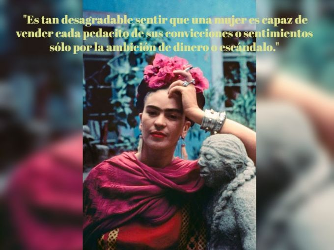 15 Frases De Frida Kahlo Para Convertirte En Una Mujer