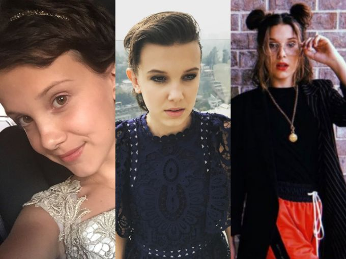 La evolución de Millie Bobby Brown de 'Stranger Things': de