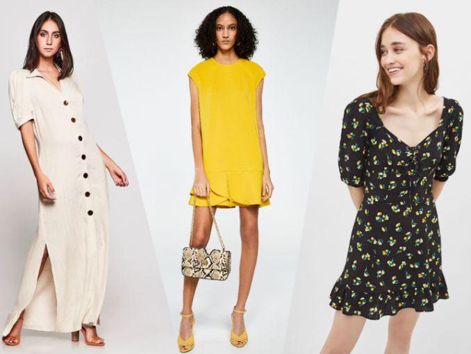 Tendencias De Moda 2019 10 Vestidos De Primavera Por Menos