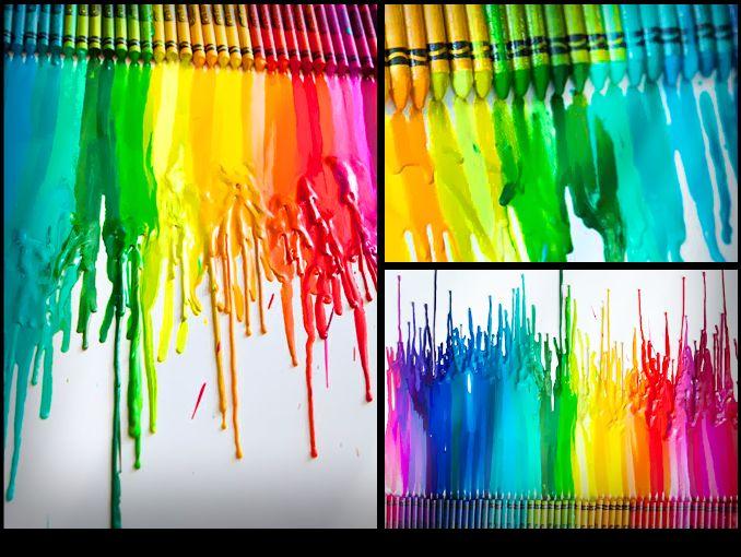 Manualidades Con Crayola Actitudfem - Cosas-creativas-para-hacer-en-casa