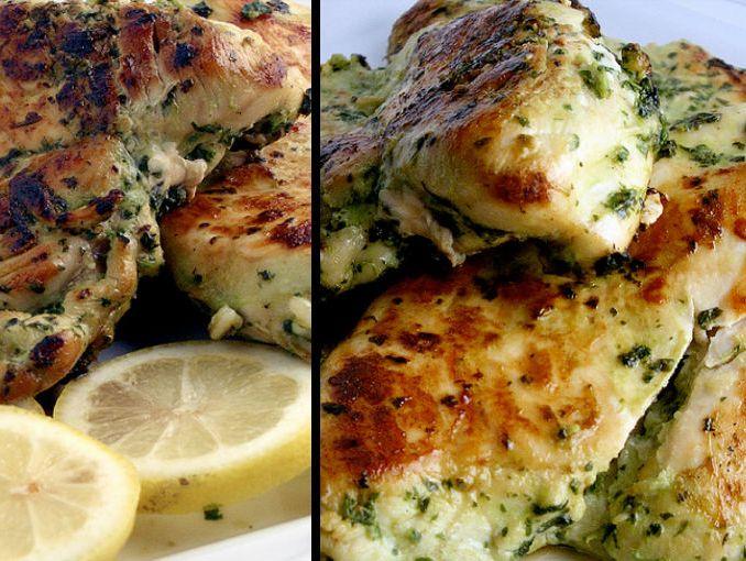 Cómo cocer al horno pechuga de pollo sin hueso -