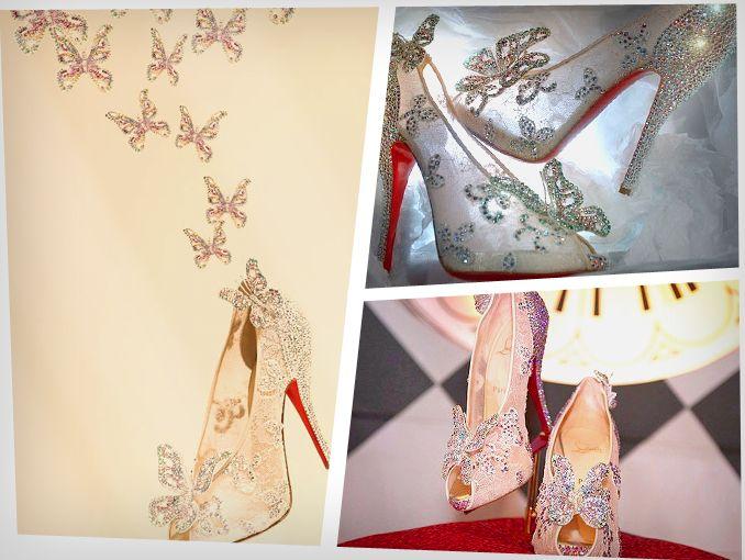 Zapatos de cenicienta por Christian Louboutin  c2a9cec5a094