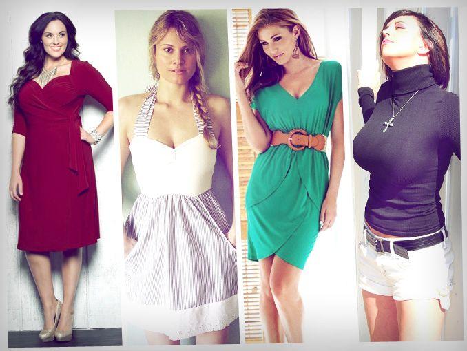 Fashion tips para mujeres de busto grande d4a3f6175e4
