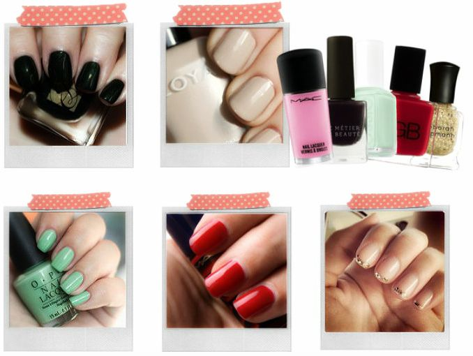 Colores de esmalte para uñas básico | ActitudFem