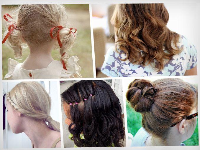 Peinados coquetos para niña