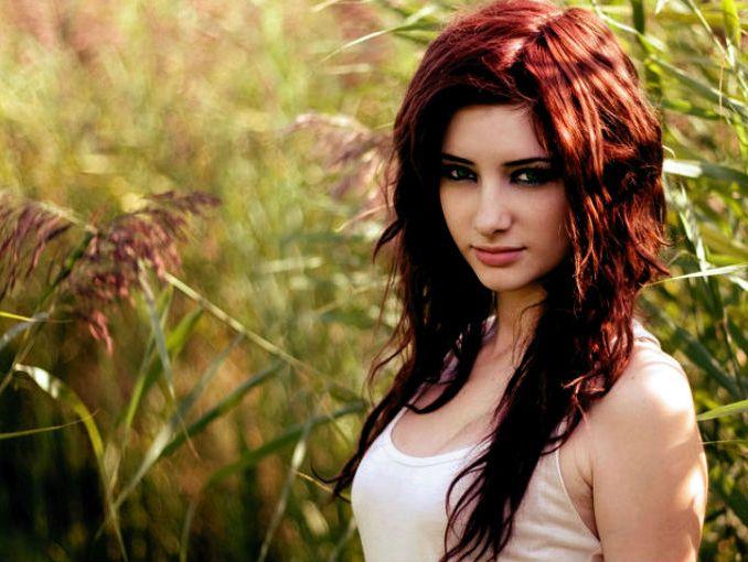Baño Color Rojo Pelo:como cuidar el cabello rojo