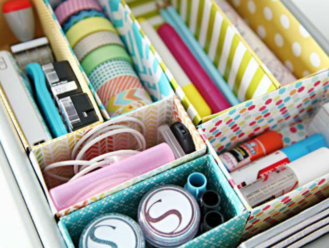 Tutorial para hacer cajas para ordenar cajones actitudfem - Cajas para ordenar ...