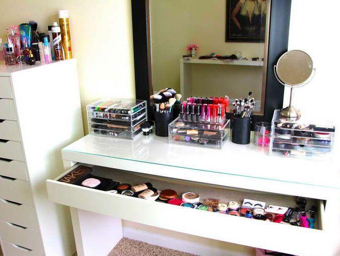 como ordenar los maquillajes