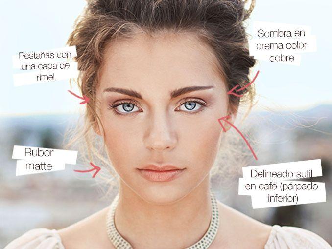 Maquillaje Natural Para El Dia Tips Actitudfem - Maquillaje-natural-de-dia
