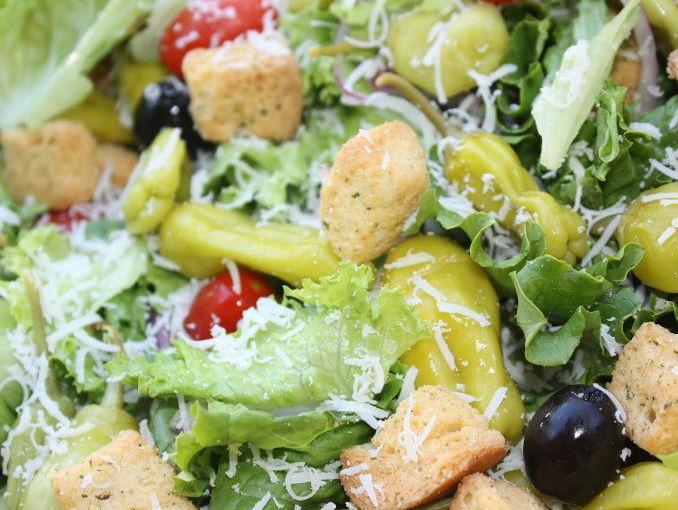 Receta de ensalada olive garden