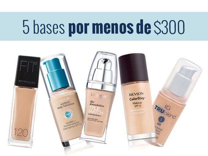 64f5f8397 Bases de maquillaje para piel grasa | ActitudFem