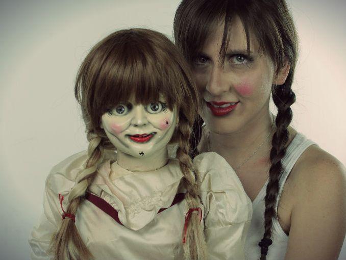Videos De Maquillaje De Halloween.Maquillaje De Annabelle Para Halloween Tutorial Y Video Actitudfem