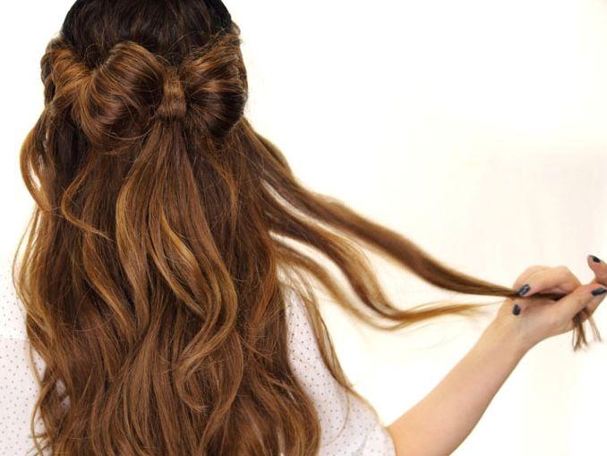 C mo hacer un mo o de cabello actitudfem - Como hacer adornos para el pelo ...
