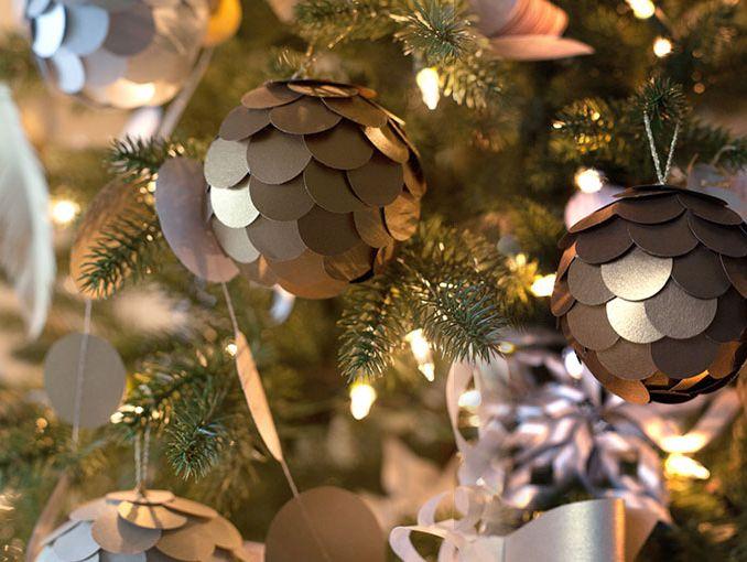 Como Hacer Esferas Para Navidad Actitudfem