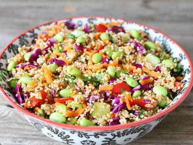 Ensalada de quinoa con verduras actitudfem - Cocinar quinoa con verduras ...