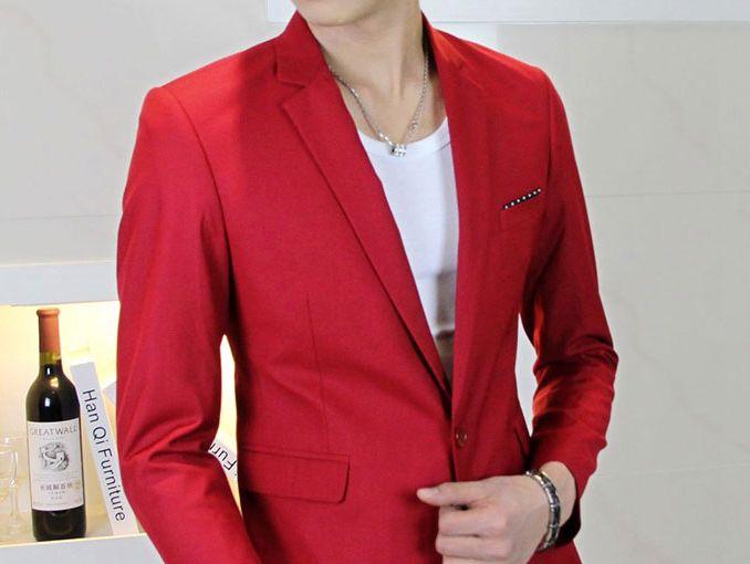 ¿Qué significa el color rojo en la ropa de hombres?