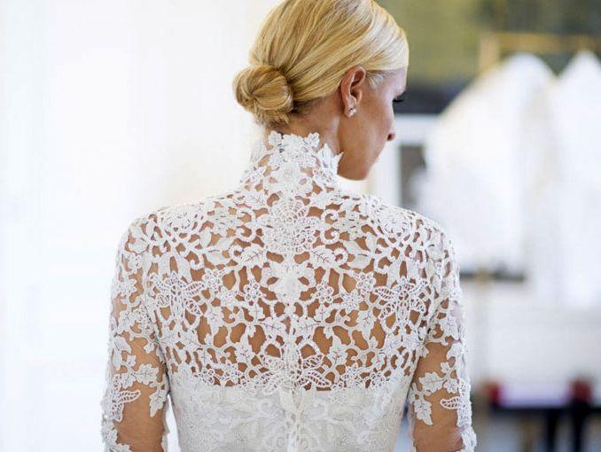 Vestido de novia de Nicky Hilton   ActitudFem