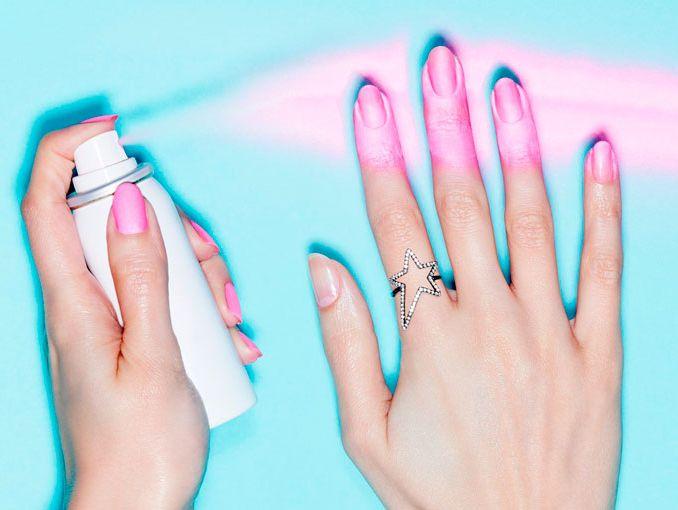 Spray para pintar las u as actitudfem - Como pintarse las unas bien ...