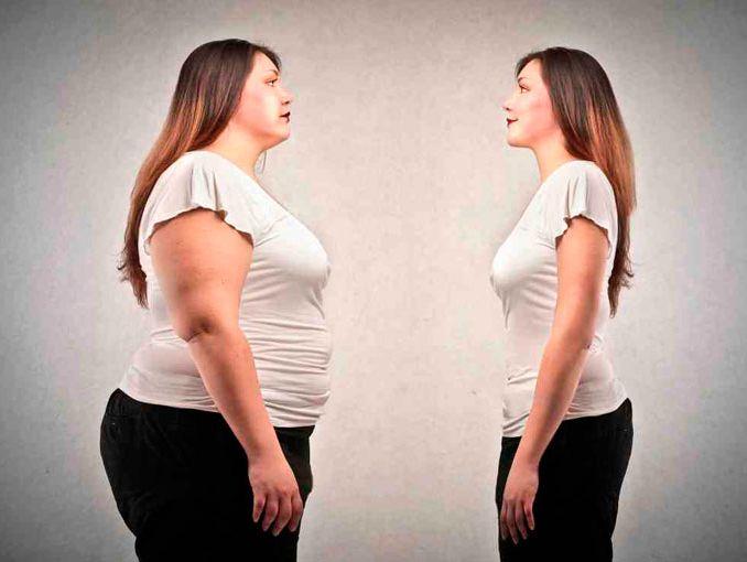 De foto bajar em peso como una