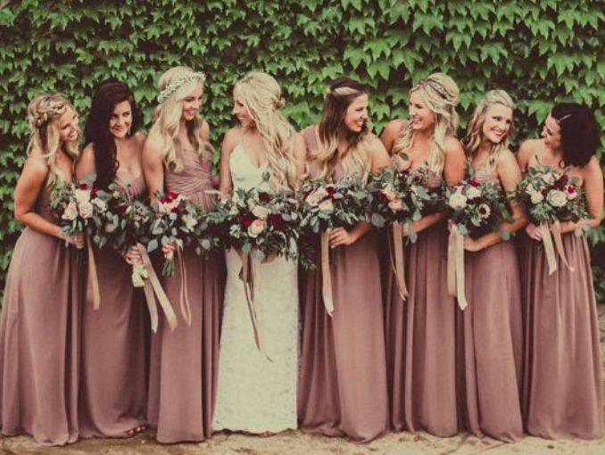 1269487db Por qué las damas de honor usan el mismo vestido