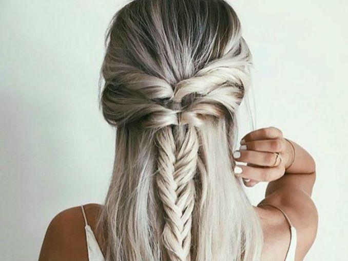 5 peinados fciles para cabello largo - Peinados Largos