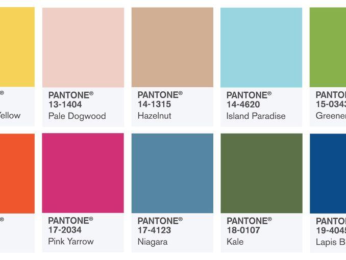 Pantone lanza los 10 colores más populares de la primavera en 2017 ...