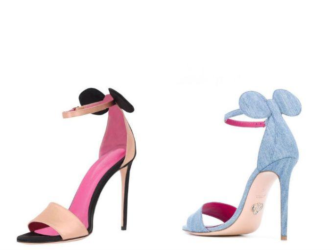 fotos oficiales estilo de moda llegando Los tacones inspirados en Minnie Mouse que te van a FASCINAR ...