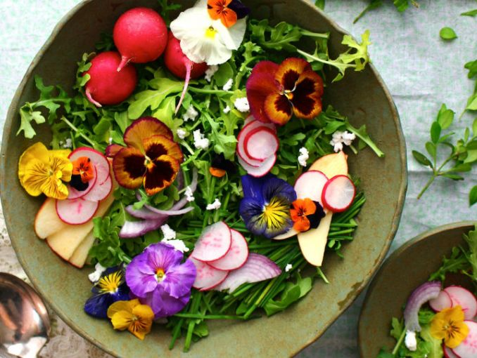Qu flores sirven para cocinar actitudfem - Flores para cocinar ...