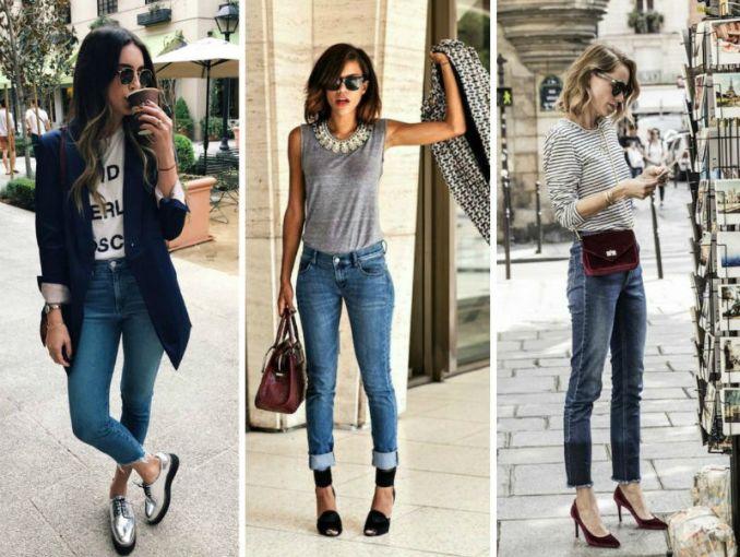 8 ideas para usar jeans en la oficina sin perder el estilo c995e04e3bd0