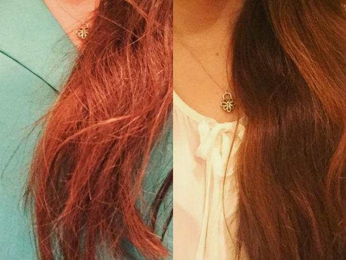 Vinagre de manzana verde para el cabello