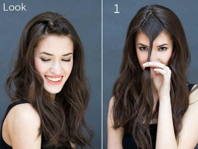 Clásico y sencillo peinados paso a paso Imagen de cortes de pelo consejos - 5 peinados fáciles que puedes hacerte paso a paso | ActitudFem
