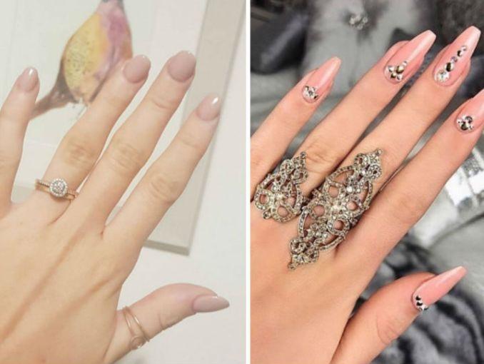 8 diseños de uñas largas que sÍ se ven elegantes actitudfem