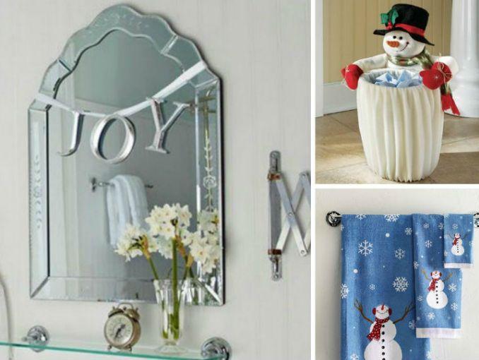 Formas De Decorar En Navidad.9 Creativas Formas De Decorar Tu Bano Para La Navidad