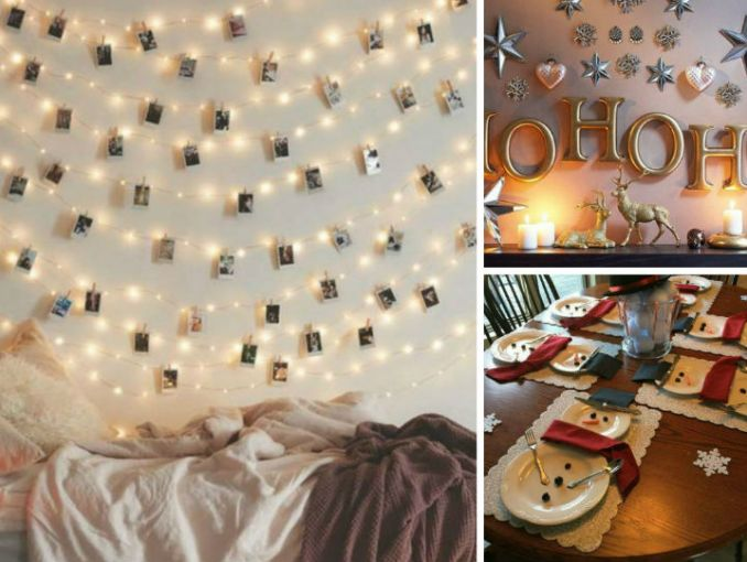 10 ideas para decorar tu casa en navidad sin gastar mucho for Ideas originales para decorar tu casa