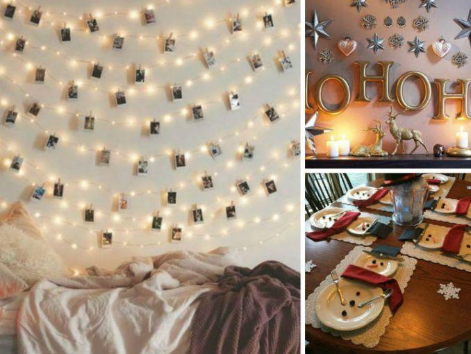10 ideas para decorar tu casa en navidad sin gastar mucho for Como adornar la casa para navidad