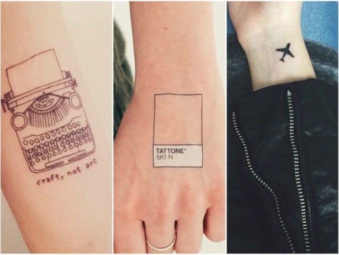 10 Tatuajes De Profesiones Para Chicas Trabajadoras Actitudfem
