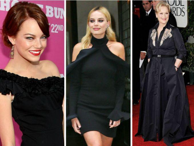 Actrices vestirán de negro en protesta a casos de acoso — Globos de Oro