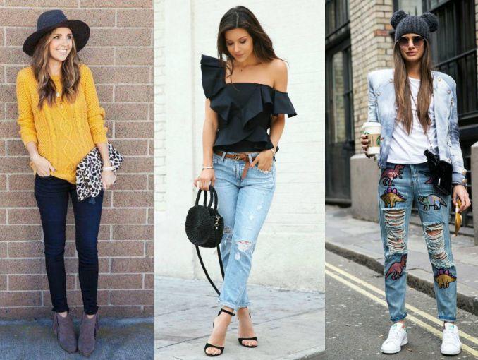 5 Formas De Vestir Jeans Toda La Semana Sin Verte Aburrida