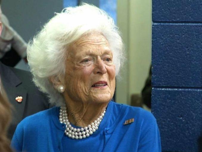 Muere ex primera dama Barbara Bush a la edad de 92