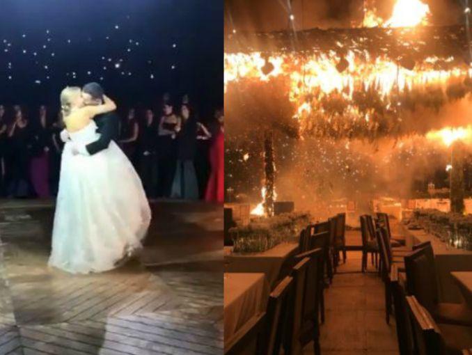 Incendio causa que boda termine en Jalisco