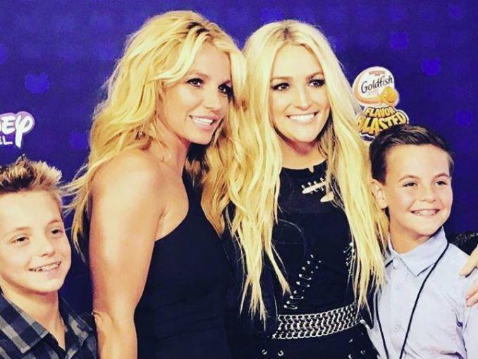 ¡Jamie Lynn hizo tía a Britney Spears por segunda vez!