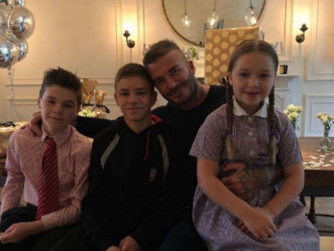 Exfutbolista David Beckham recibió la