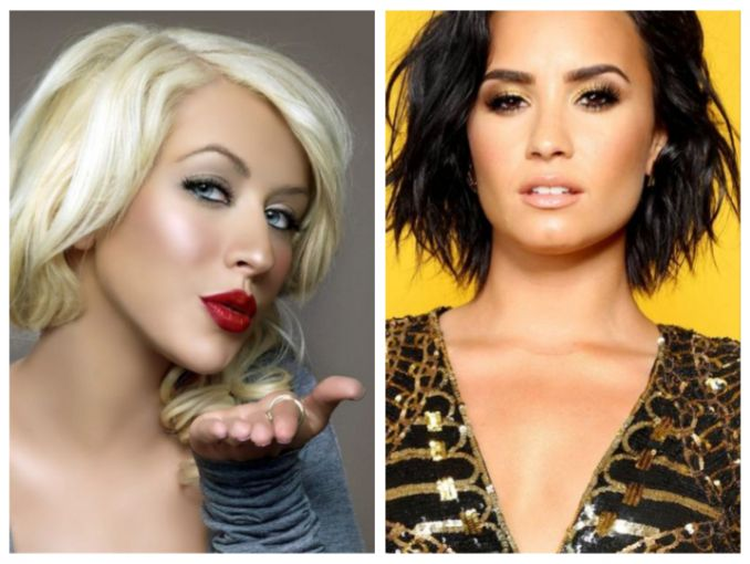 Christina Aguilera estrena canción con Demi Lovato