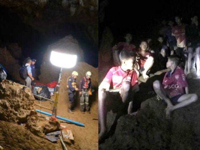 Resultado de imagen para tailandia niños cueva pelicula