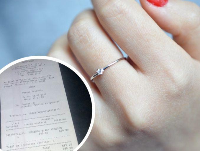 990b013c4c5b Se quejó en redes de su anillo de compromiso e Internet se le fue encima