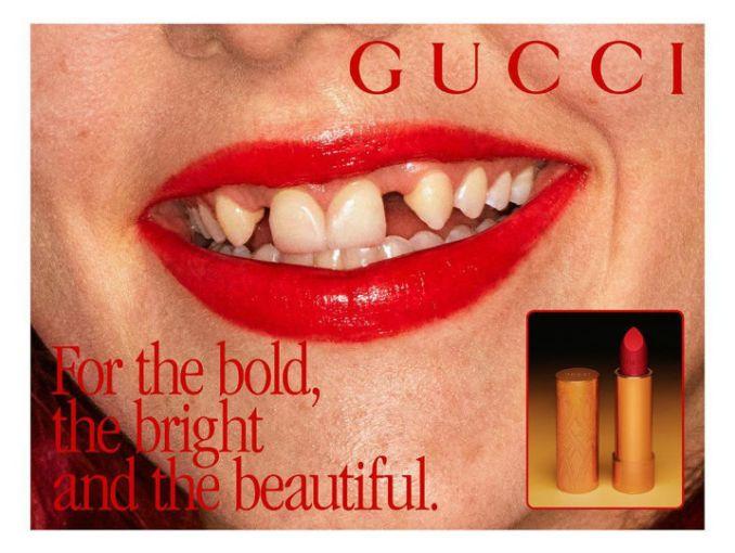 Gucci Celebra La Belleza Imperfecta Con La Sonrisa De Dientes