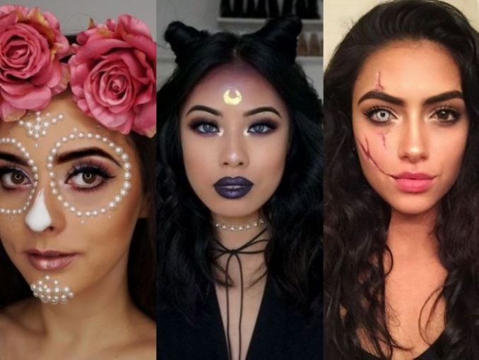 Videos De Maquillaje De Halloween.Maquillaje Para Halloween 2019 Facil Actitudfem