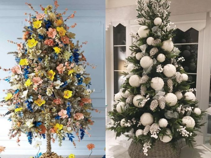 Como Decorar Mi Casa En Esta Navidad 2019.Decoracion De Arbol De Navidad 2019 Actitudfem