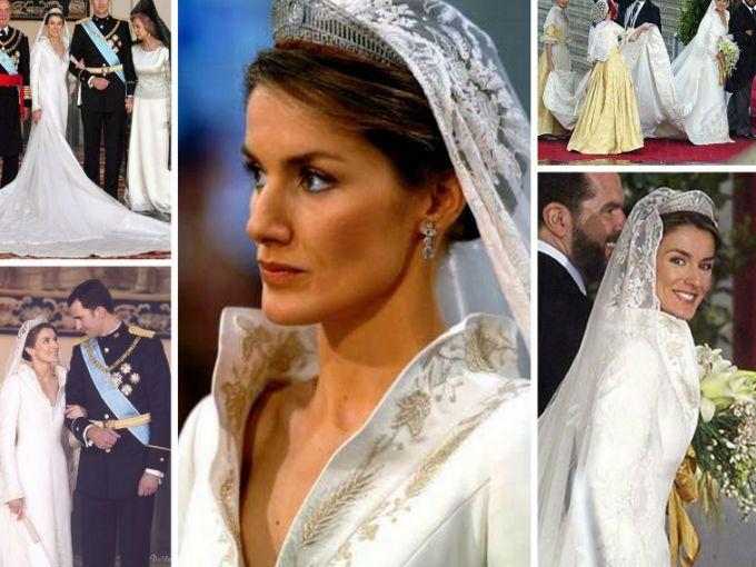 Vestidos de boda realeza